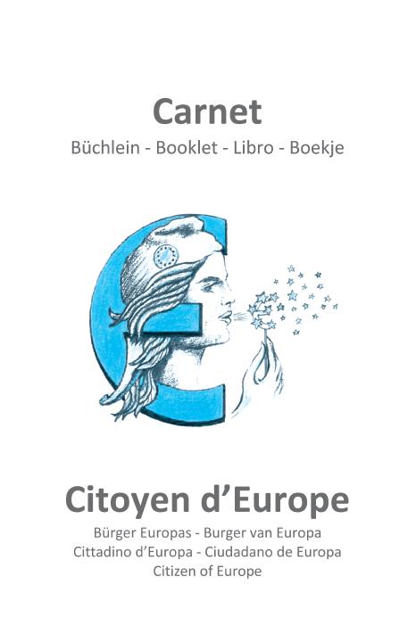 Carnet du citoyen d'Europe couv1